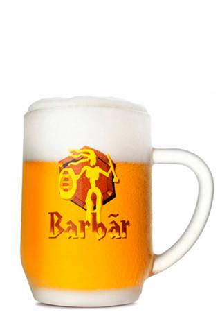 Bierglas Barbar Honigbier 0,25 l