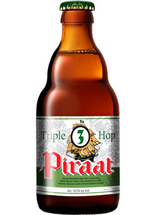 Piraat Tripel Hop 0,33 l