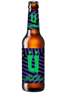 ÜberQuell Lieblings Imperial Lager 0,33 l Mw