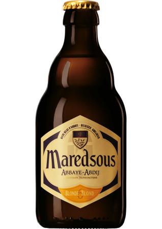 Maredsous 6° Blond 0,33 l MHD 8/18