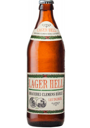 Härle Lager Hell 0,5 l Mw