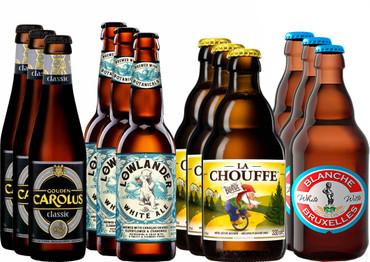 Kräuter- und Gewürzbier Bier Paket mit 12 Bieren