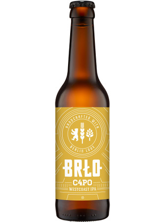BRLO C4PO West Coast IPA 0,33 l Mw