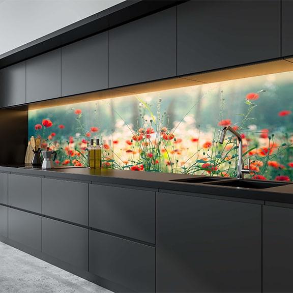 Glas Küchenrückwände ab 53,99€