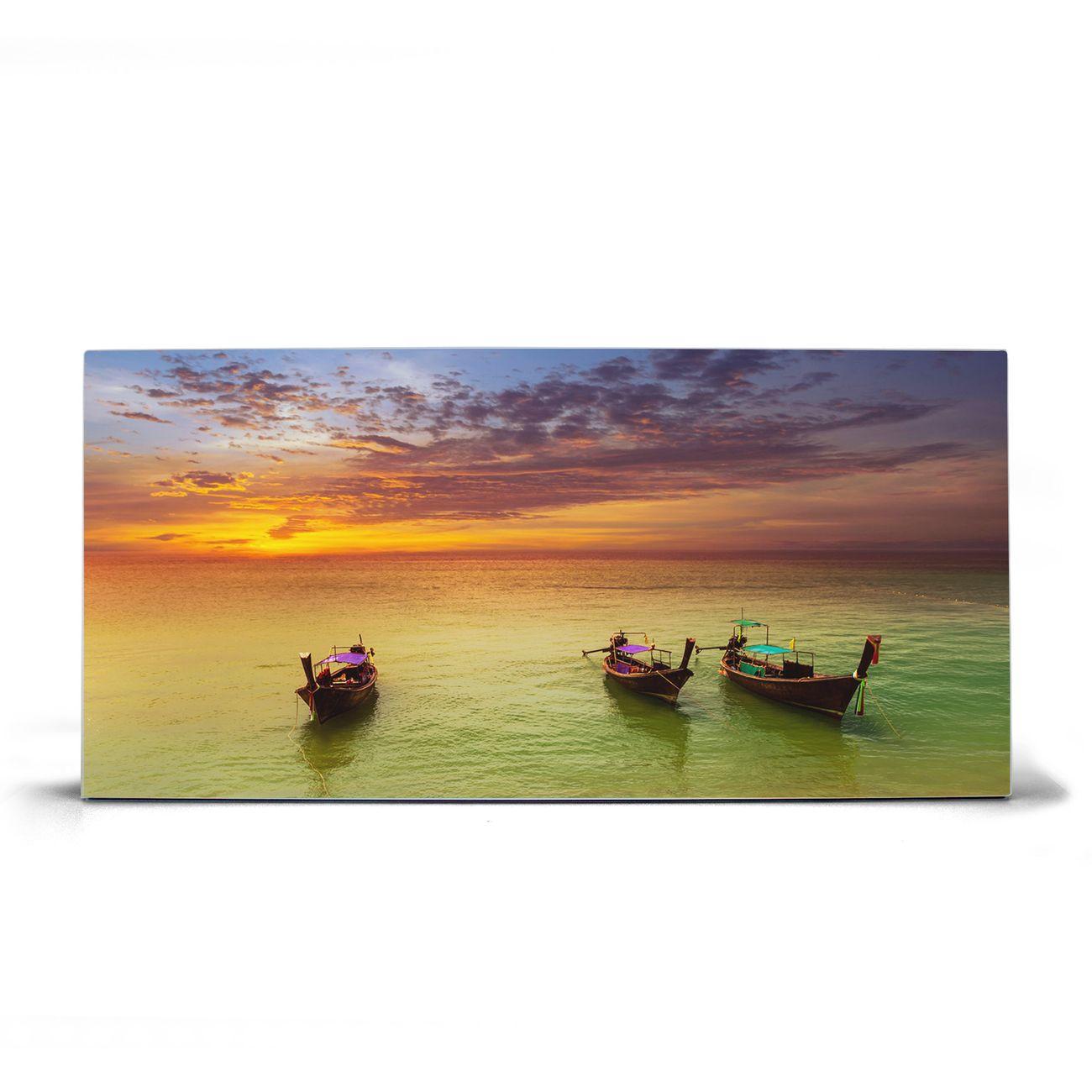 Magnettafel silber Querformat Golf Von Thailand