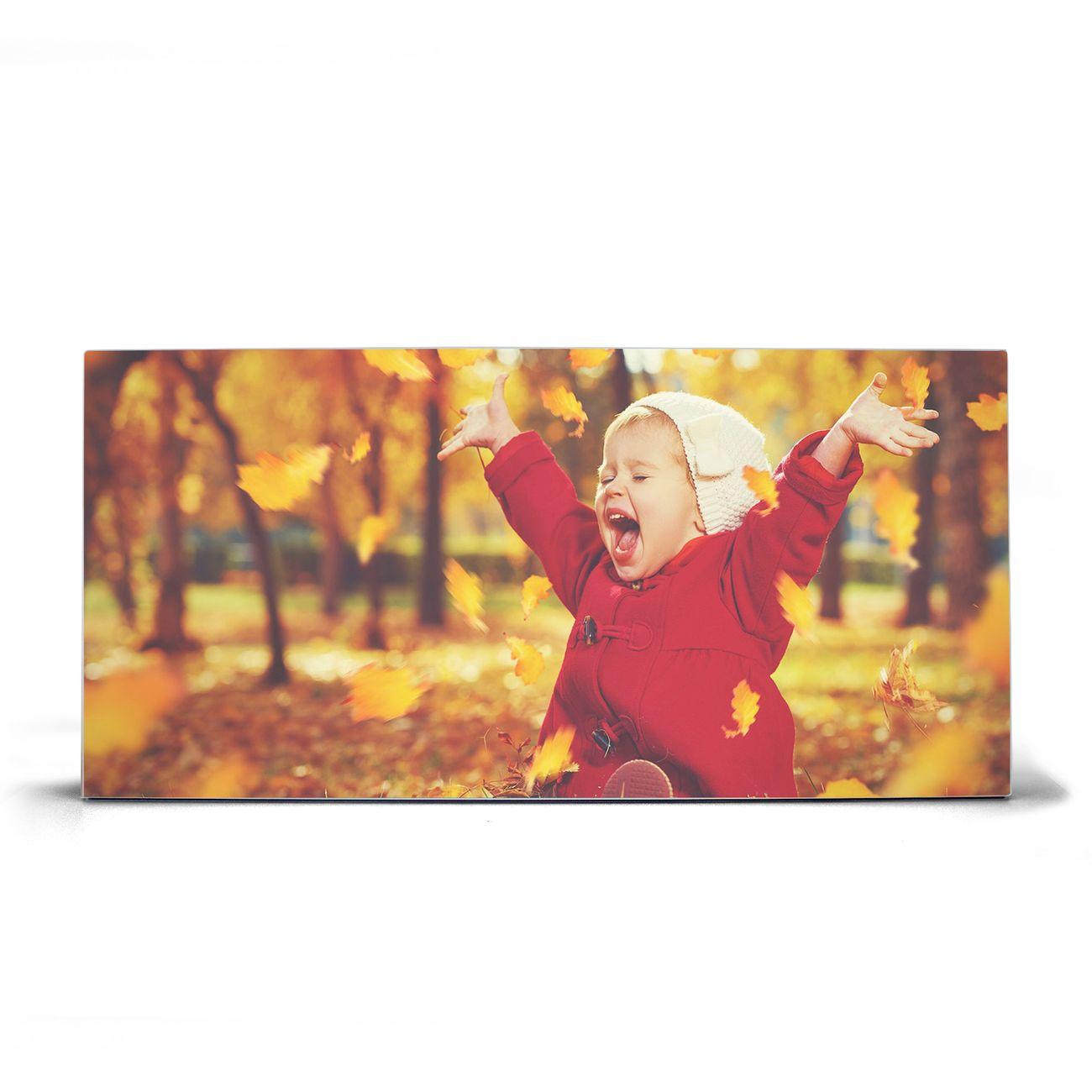 Magnettafel silber Querformat Herbstfreude