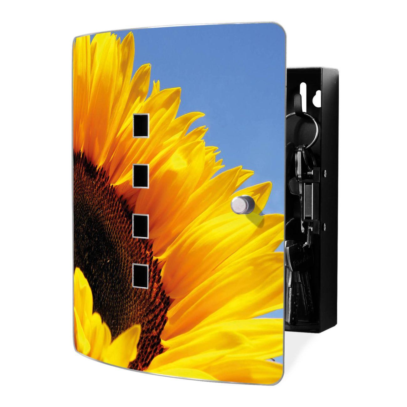 Schlüsselkasten Motiv Sonnenblume