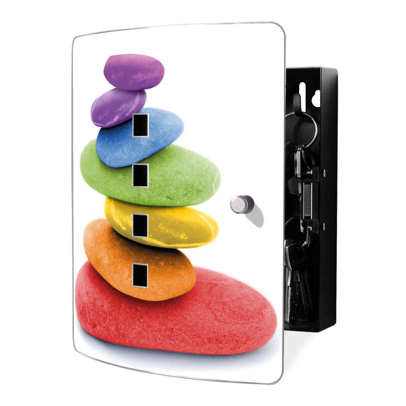 Schlüsselkasten Motiv Coloured Stone