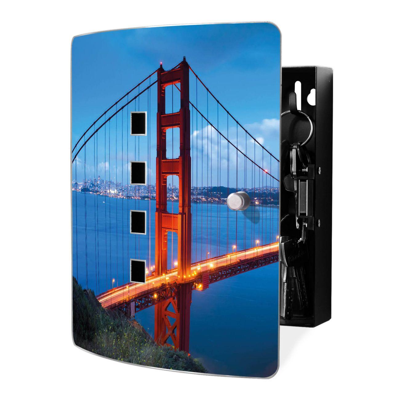 Schlüsselkasten Motiv Golden Gate Bridge