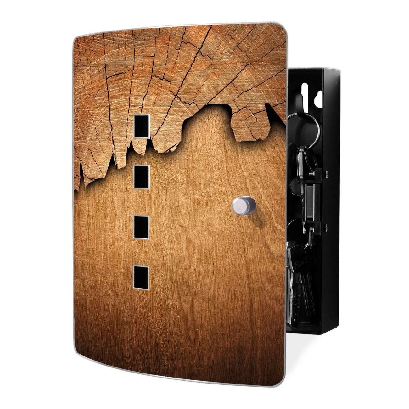 Schlüsselkasten Motiv Holz