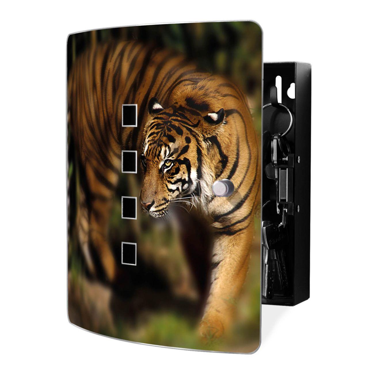 Schlüsselkasten Motiv Tiger