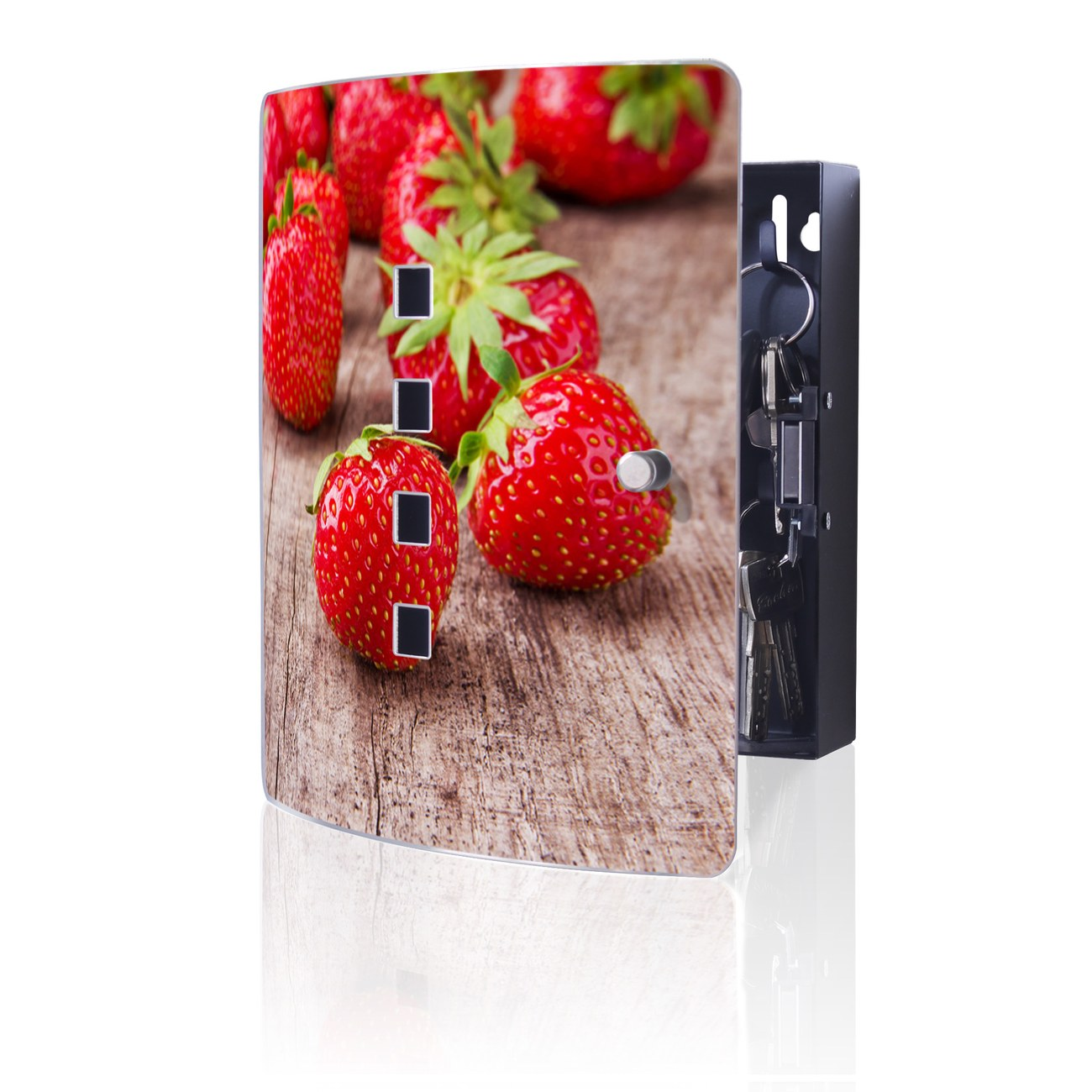 Schlüsselkasten Motiv Erdbeeren