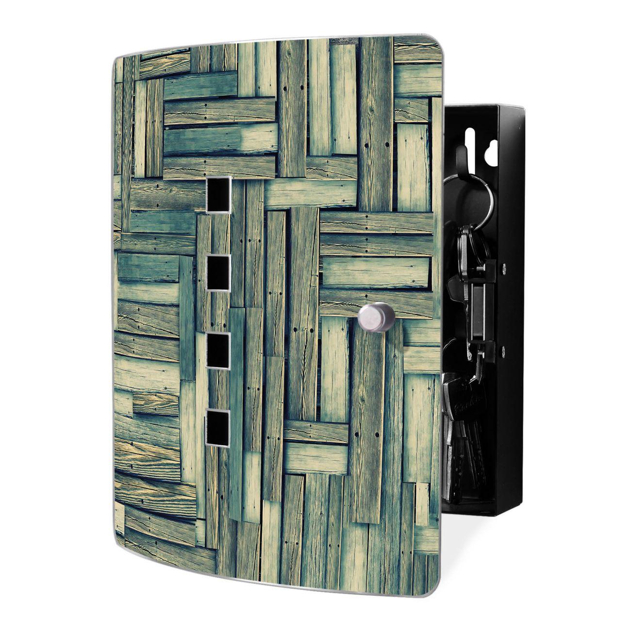 Schlüsselkasten Motiv Grüne Planken