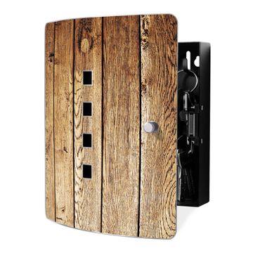 Schlüsselkasten Motiv Geöltes Holz