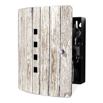 Schlüsselkasten Motiv Weißes Holz