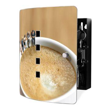 Schlüsselkasten Motiv Kaffeepause