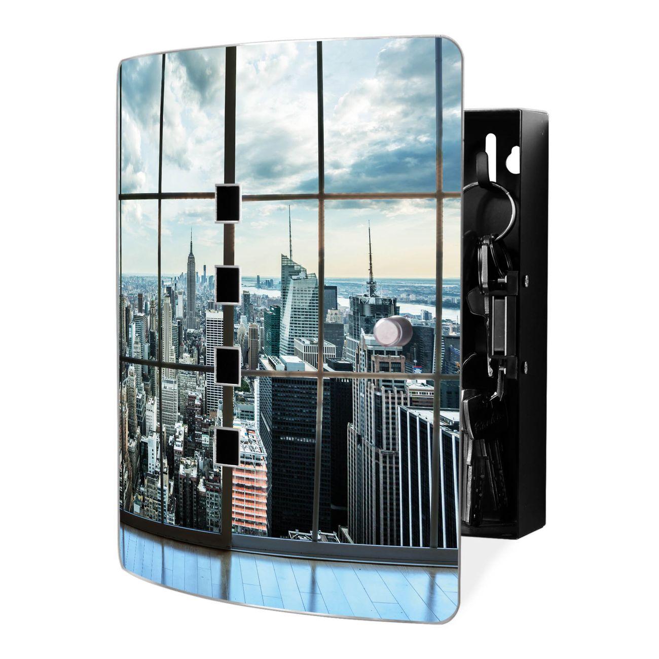 Schlüsselkasten Motiv Skyline Manhattan