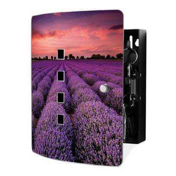 Schlüsselkasten Motiv Lavendelfeld