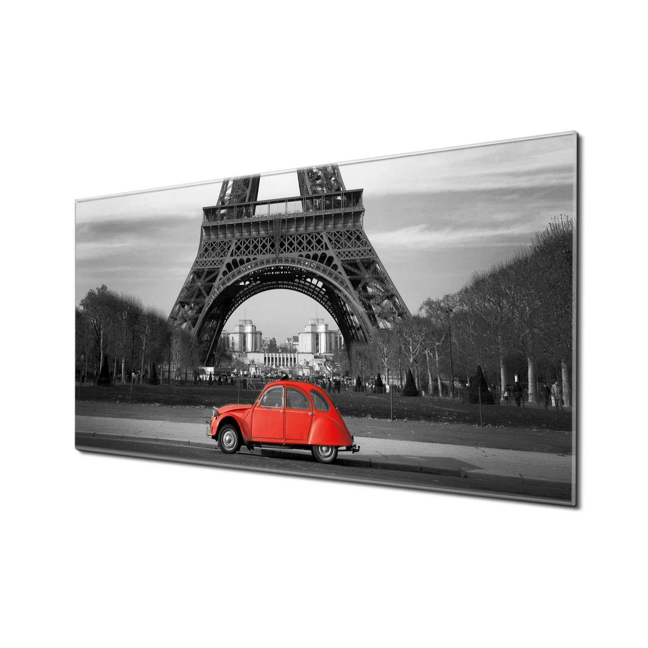 Küchenrückwand Glas Motiv Paris