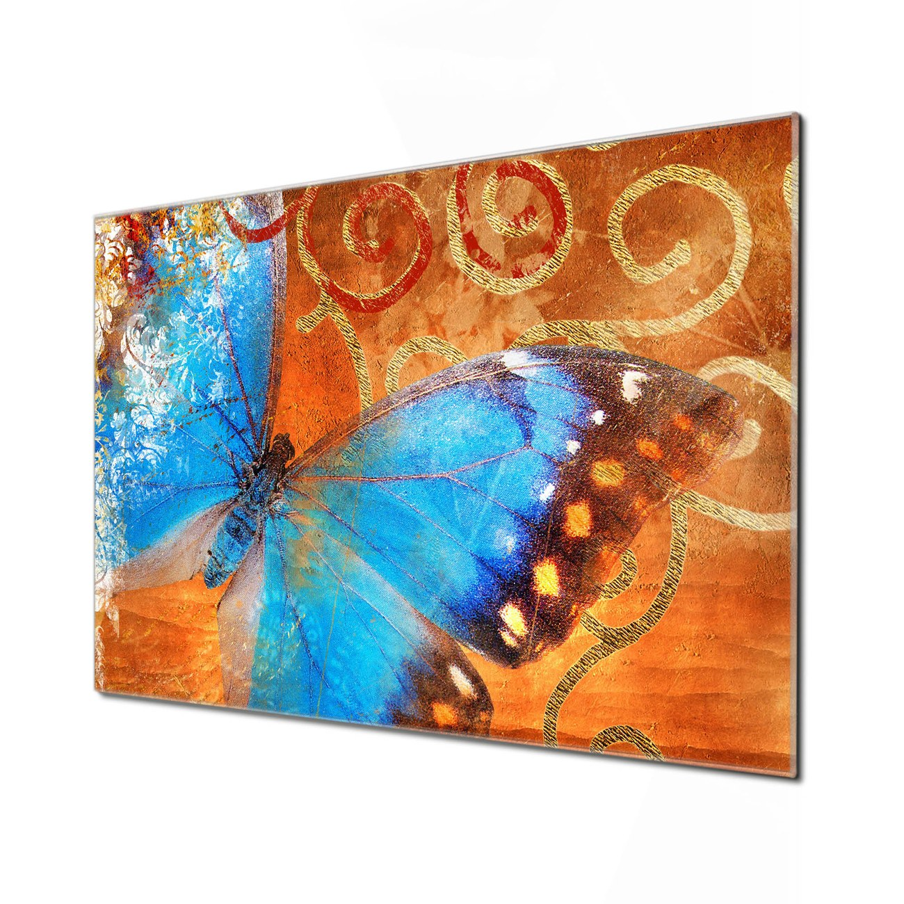 Küchenrückwand Glas Motiv Schmetterling