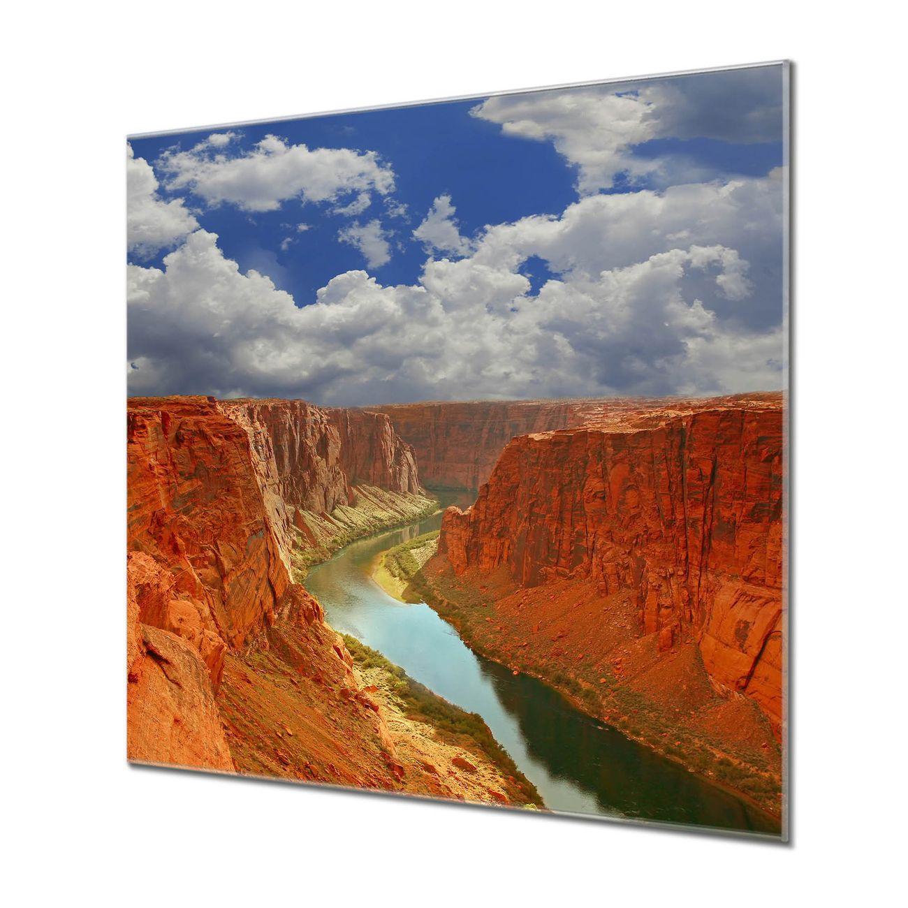 Küchenrückwand Glas Motiv Grand Canyon