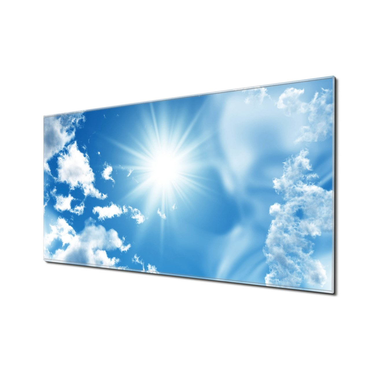 Küchenrückwand Glas Motiv Clouds