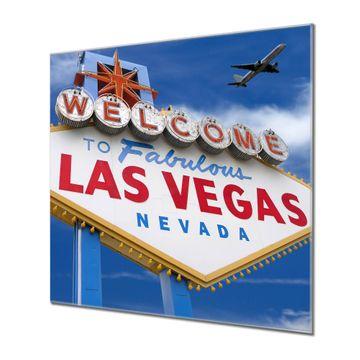 Küchenrückwand Glas Motiv Las Vegas
