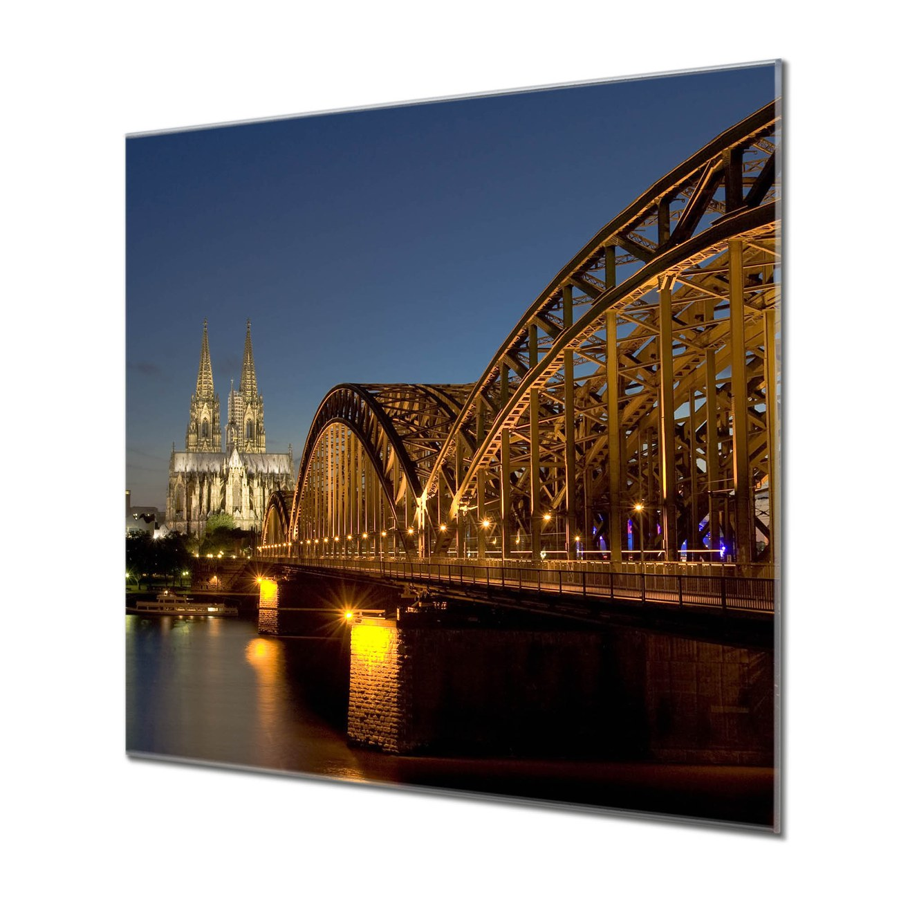 Küchenrückwand Glas Motiv Köln