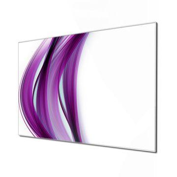 Küchenrückwand Glas Motiv Violet Element