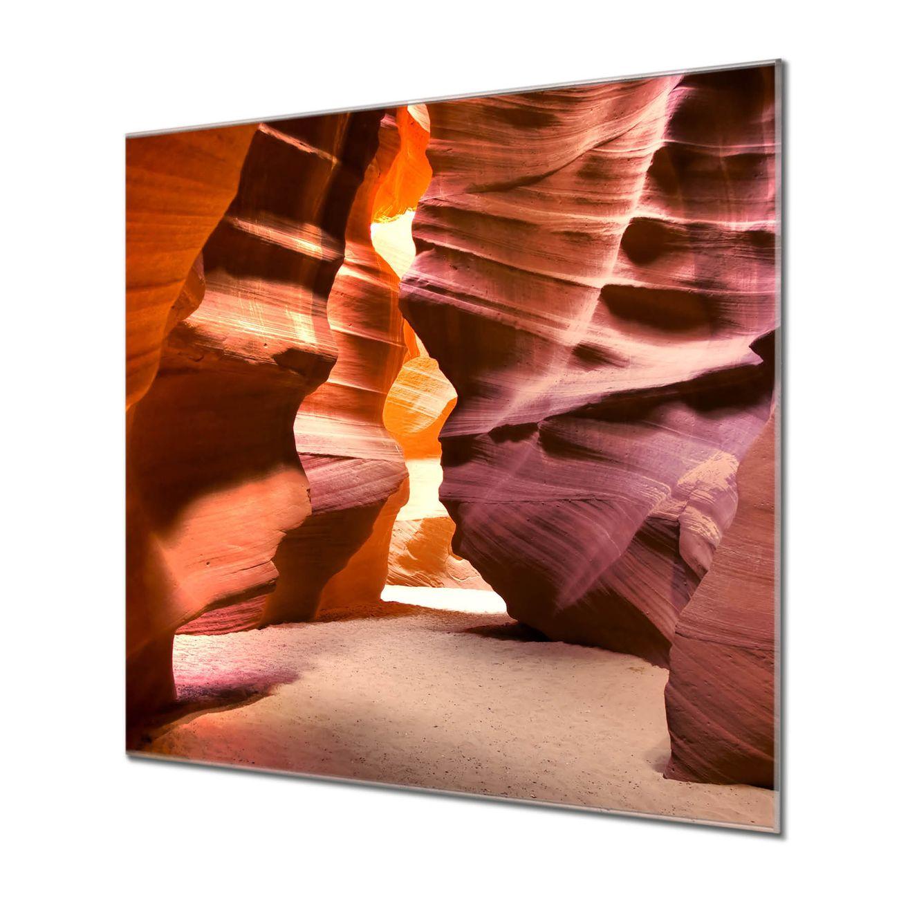 Küchenrückwand Glas Motiv Antelope Canyon
