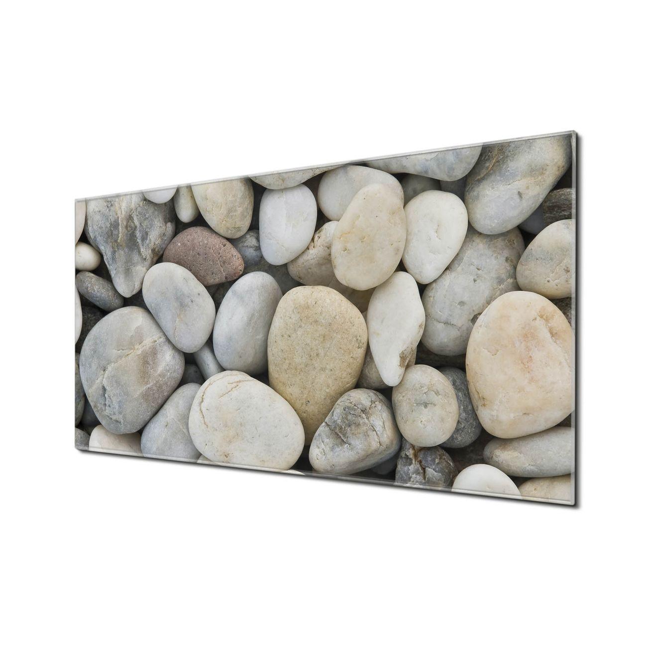 Küchenrückwand Glas Motiv Kieselsteine