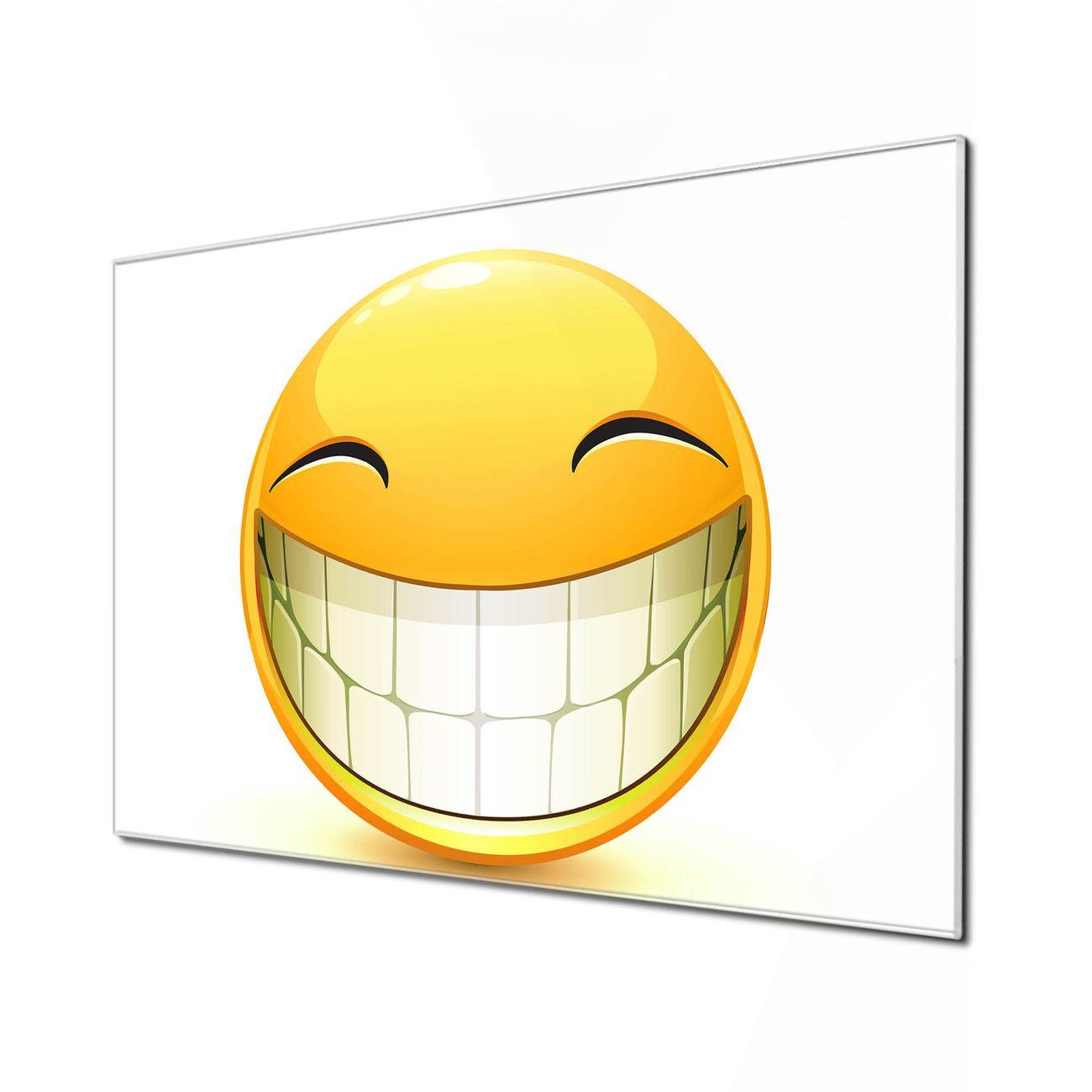 Küchenrückwand Glas Motiv Smile