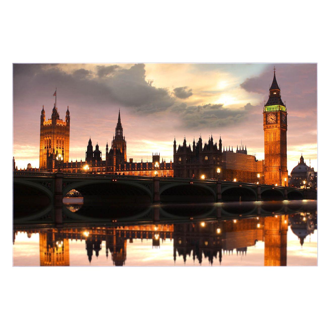 Küchenrückwand Glas Motiv Palace of Westminster