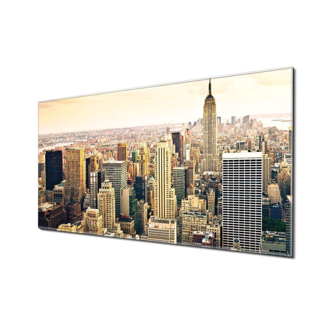 Küchenrückwand Glas Motiv New York City