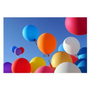 Küchenrückwand Glas Motiv Luftballons
