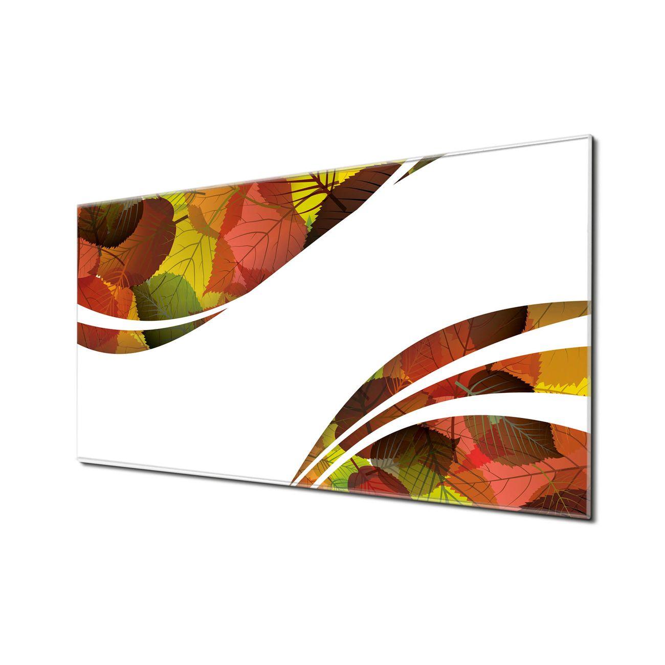 Küchenrückwand Glas Motiv Herbstlaub