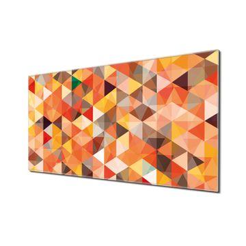 Küchenrückwand Glas Motiv Kaleidoskop