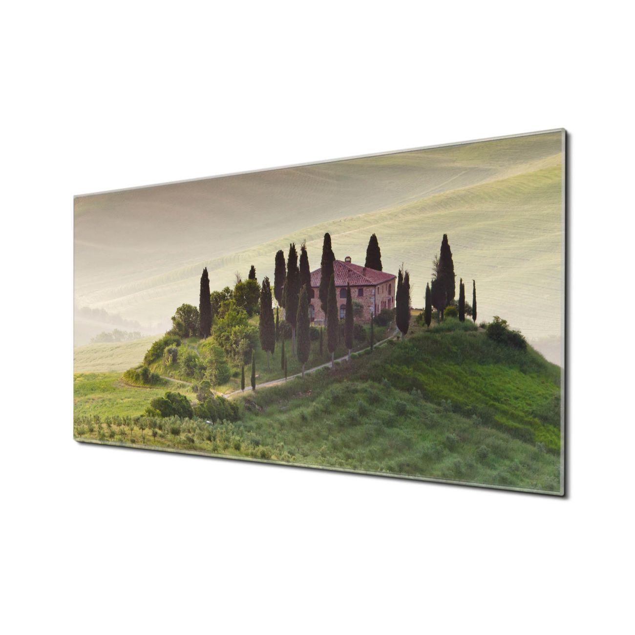 Küchenrückwand Glas Motiv Toscana