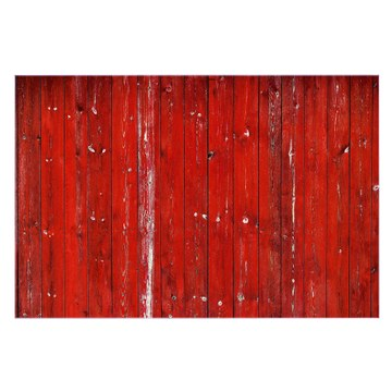 Küchenrückwand Glas Motiv Rote Holzlatten