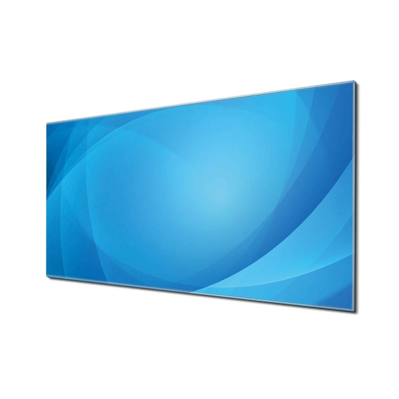 Küchenrückwand Glas Motiv Blaues Licht