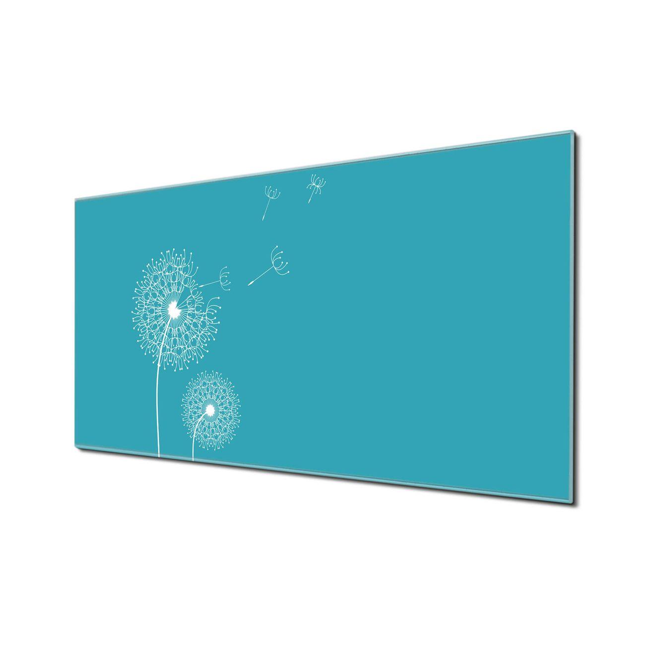 Küchenrückwand Glas Motiv Pusteblume 4