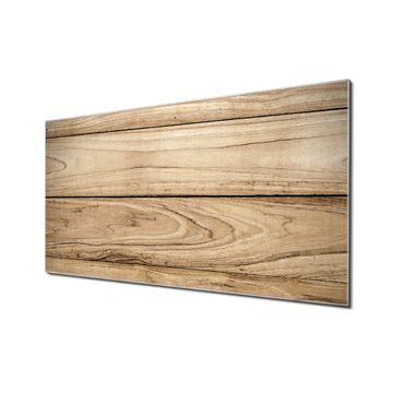 Küchenrückwand Glas Motiv Holzplanken