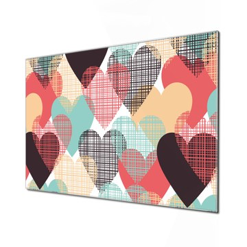 Küchenrückwand Glas Motiv Unter Herzen