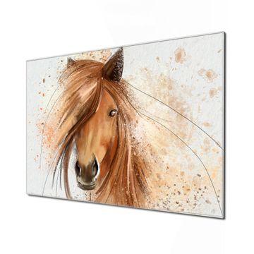 Küchenrückwand Glas Motiv Magic Horse