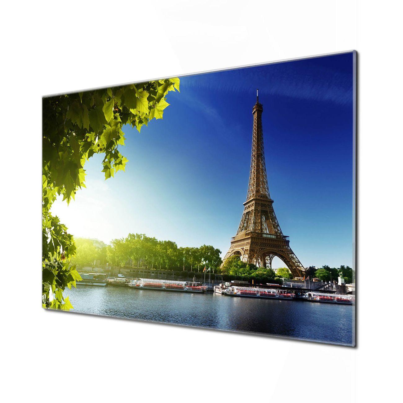 Küchenrückwand Glas Motiv Tour Eiffel