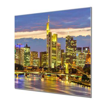 Küchenrückwand Glas Motiv Frankfurt Main