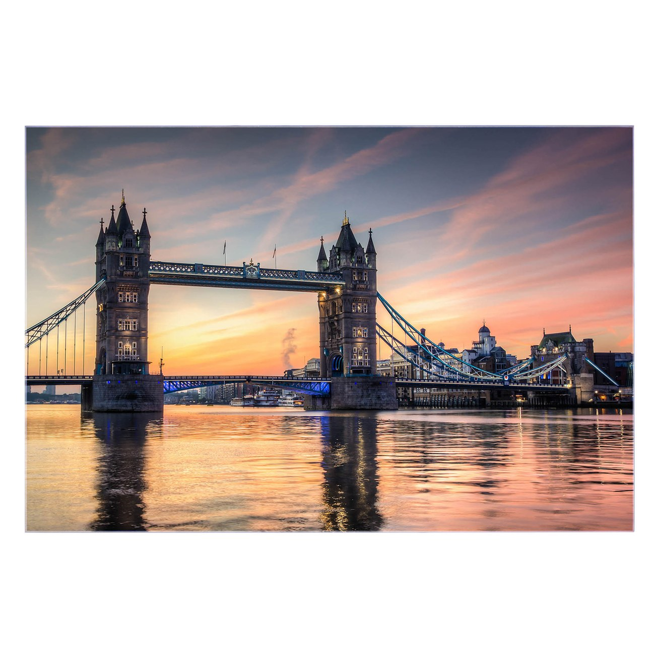 Küchenrückwand Glas Motiv Tower Bridge