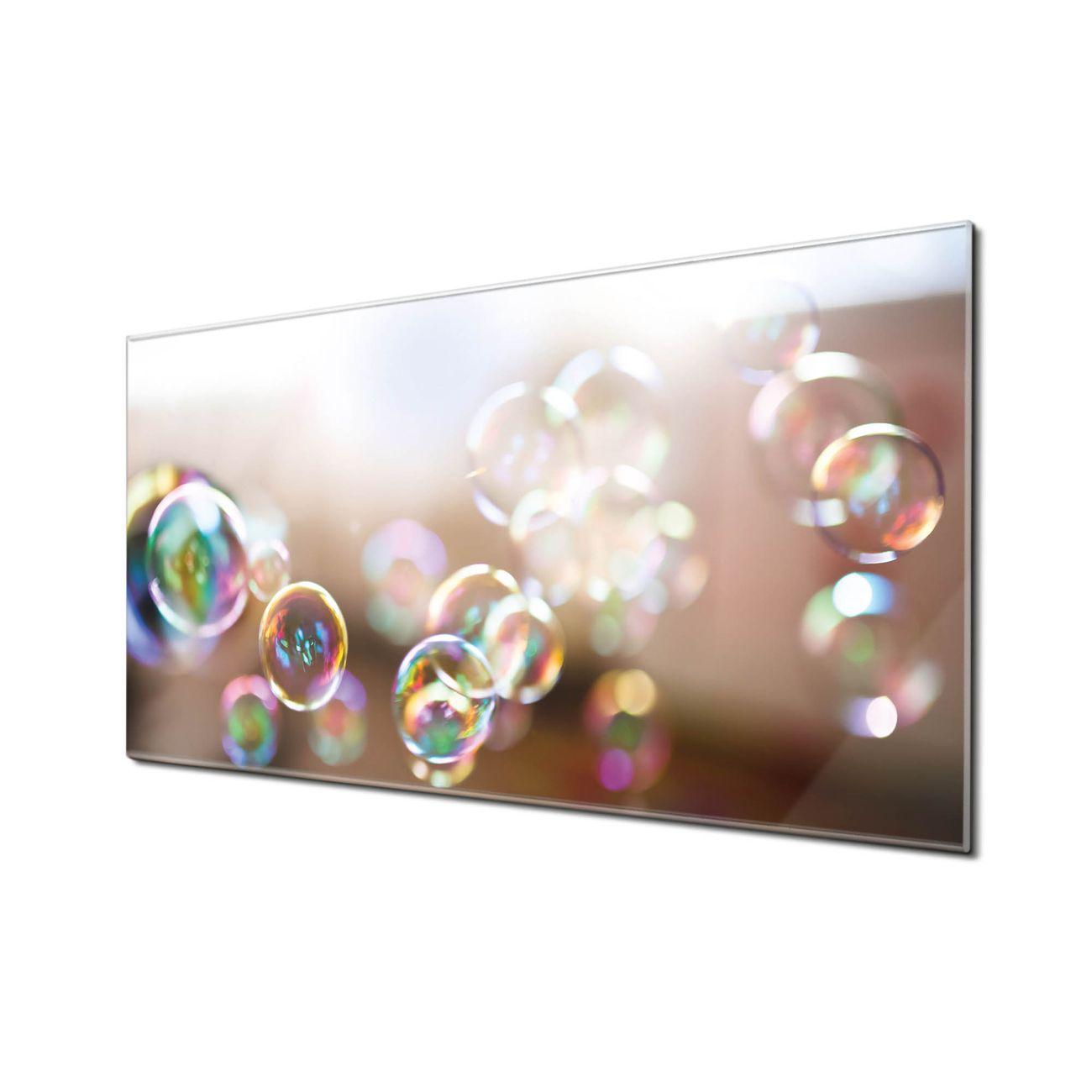 Küchenrückwand Glas Motiv Seifenblasen