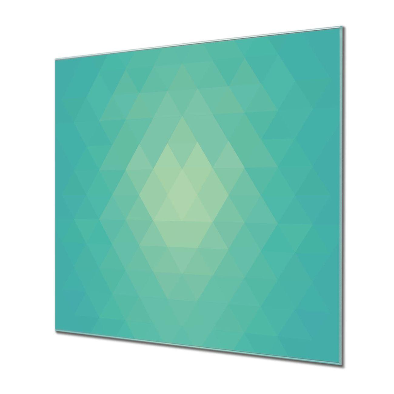 Küchenrückwand Glas Motiv Meeresblau – Bild 1