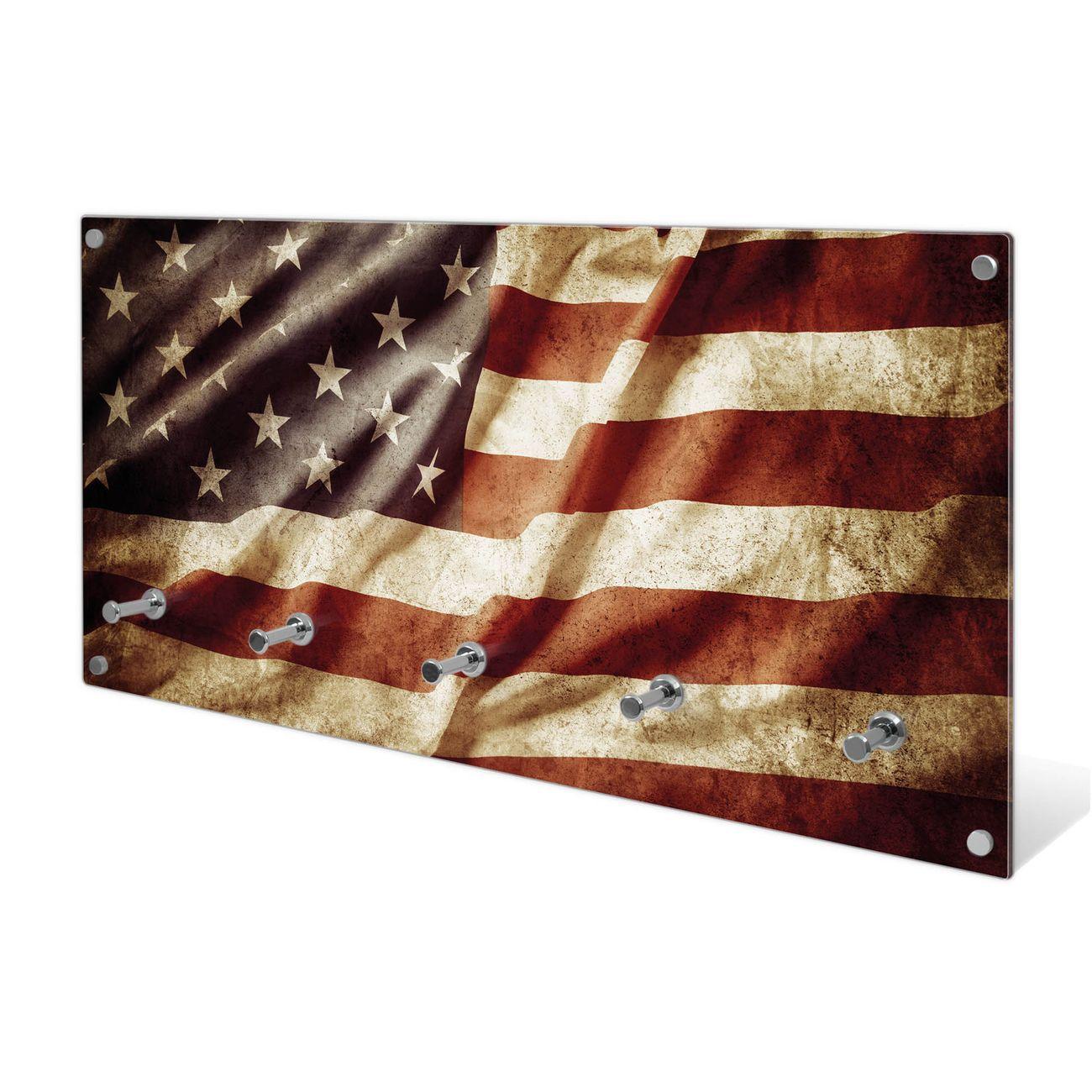 Garderobe aus Glas Motiv United States